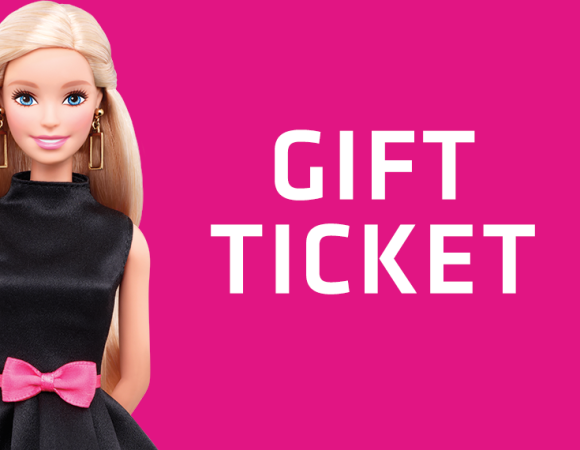 Gift Ticket Barbie