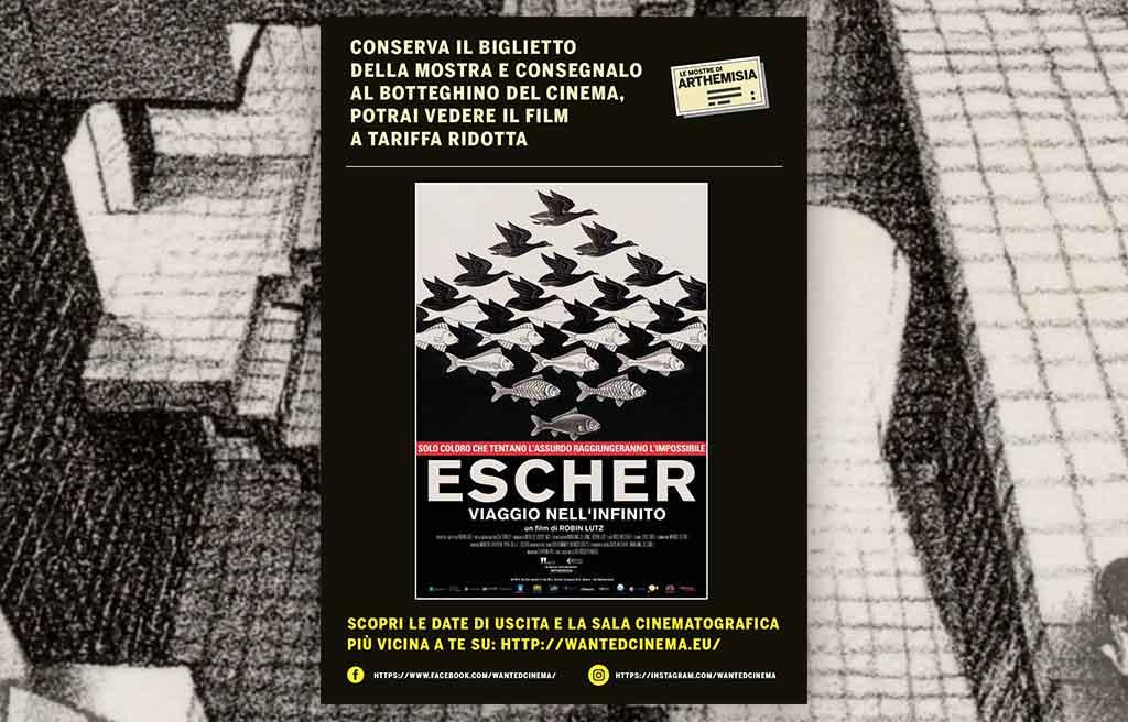 Banner promozione Escher